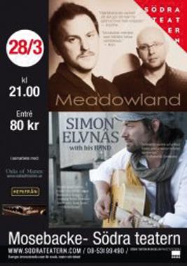 Simon Elvnäs på Södra Teatern